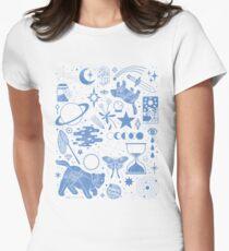 Die Sterne sammeln Tailliertes T-Shirt