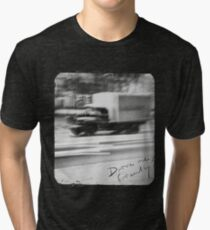 Drive me friendly 2 (for dark clothes) Tri-blend T-Shirt