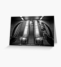 Up and Down Greeting Card