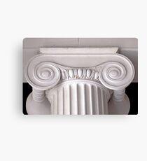 ionic architectural column Canvas Print