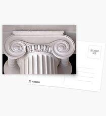 ionic architectural column Postcards