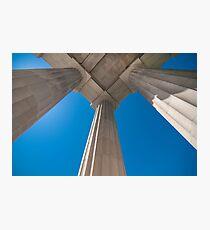 ionic columns Photographic Print