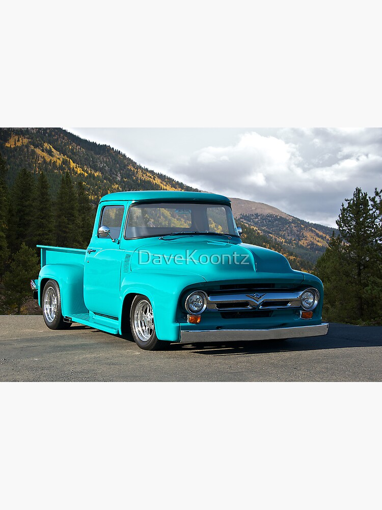 1956 Ford F100 Custom Pick-Up Truck | Poster