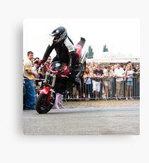 motorcycle stunt 005 Metal Print