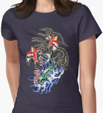 Glowing koi and sparrows T-Shirt