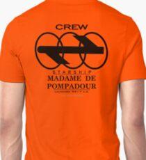 SS Madame De Pompadour - Crew Wear Unisex T-Shirt