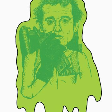 Ghostbusters : Peter Venkman by monstersoutside