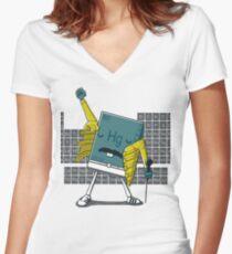 Freddie HG Women's Fitted V-Neck T-Shirt