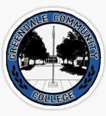 Greendale Community College Logo Sticker
