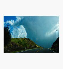 Big Island Clouds Photographic Print