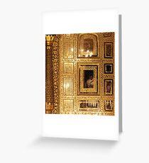 Golden Sikhism Greeting Card