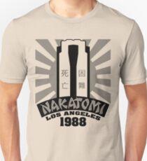 Nakatomi, 1988 (Black Print) T-Shirt