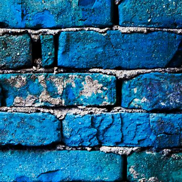Blue Bricks Wall Classic T Shirt By CristianTanta Redbubble
