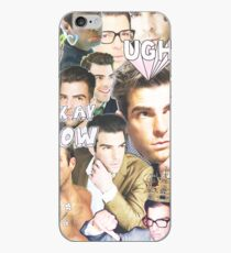 zachary quinto collage iPhone Case