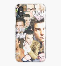 zachary quinto collage iPhone Case/Skin
