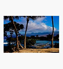 Hawaii Ocean View  Photographic Print
