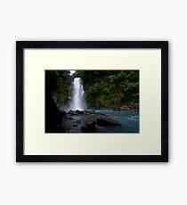 Celeste River Framed Print