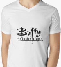 Buffy the Vampire Slayer Men's V-Neck T-Shirt