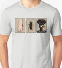 Foot, Cockroach, Nuclear Bomb Unisex T-Shirt