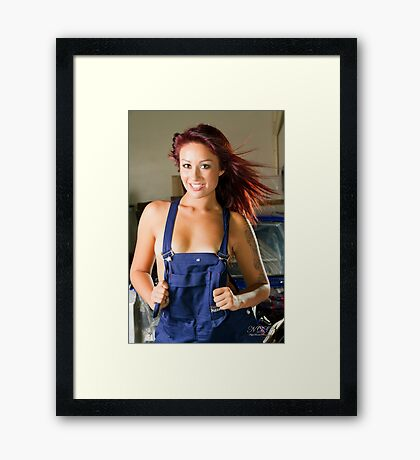 Teneille Jade 5  Framed Print