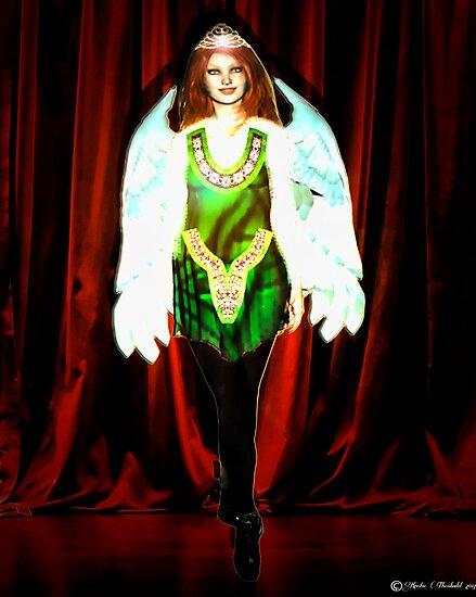 Angel Irish Dancer by Kristie Theobald