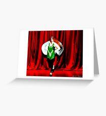 Angel Riverdance II Greeting Card