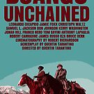 Django Unchained Movie Poster by FunnyFaceArt
