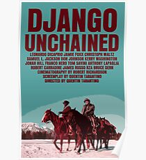 Django Unchained Movie Poster Poster