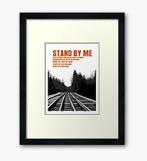 Stand By Me Movie Poster Gerahmtes Wandbild