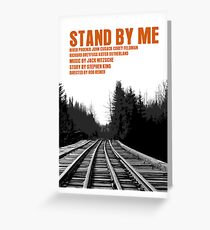 Stand By Me Movie Poster Greeting Card