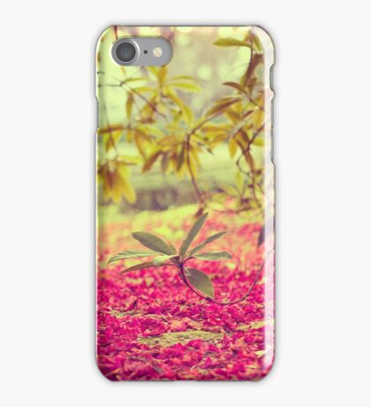 waiting for spring iPhone Case/Skin