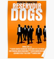 Reservoir Dogs Movie Poster Poster