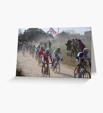Paris - Roubaix 2013 Classic Cycle Race Greeting Card