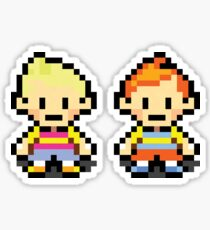 Lucas and Claus - Mother 3 Sticker