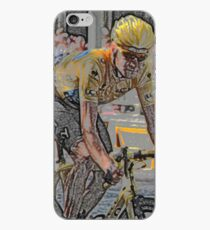 Bradley Wiggins - iPhone Case (Abstract) iPhone Case