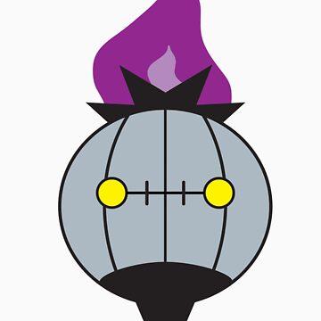 Pokemon - Chandelure by JamezyJohnson