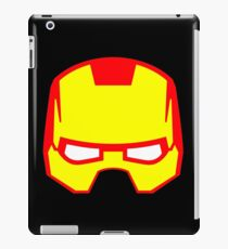 Super hero mask (Iron man) iPad Case/Skin