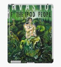 Invasion Of The Ipod People iPad Case/Skin