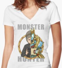 Hunter's Life (Ben Custom) Women's Fitted V-Neck T-Shirt