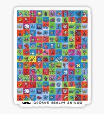 100 Tiny Paintings! Sticker