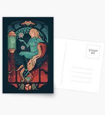 Aran Nouveau Postcards