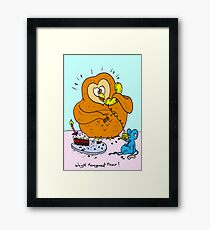 Weight Management Please! Framed Print