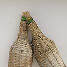 Santorini hanging bottles by Rich51