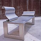 Stainless steel bench in Split by Rich51