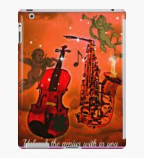 unleash the genius with in you iPad Case/Skin