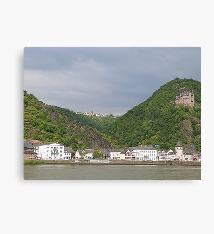 The Rhine Valley. Canvas Print