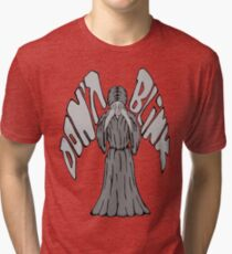 Don't Blink Weeping Angel Tri-blend T-Shirt