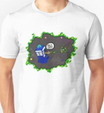 Tardis VS Delorean Unisex T-Shirt
