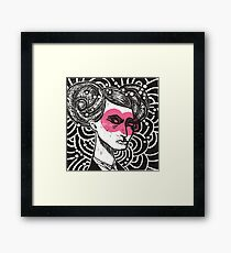 Bunhead - Rose coloured glasses Framed Print