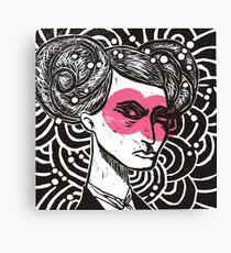 Bunhead - Rose coloured glasses Canvas Print